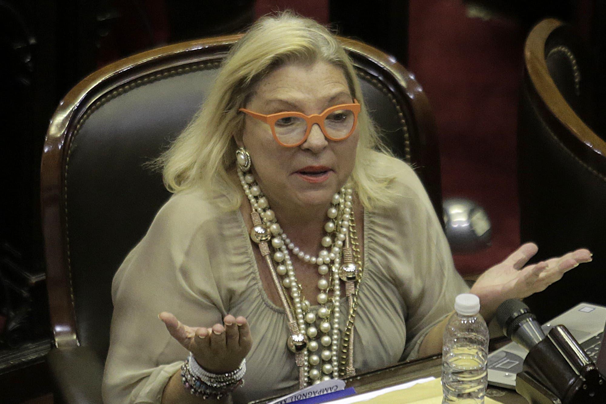 Elisa Carrió acusó a Cristina Kirchner de preparar un golpe contra la Justicia y buscar erosionar al Presidente