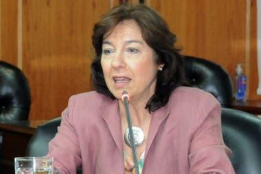 Victoria Pérez Tognolla, camarista de la Seguridad Social