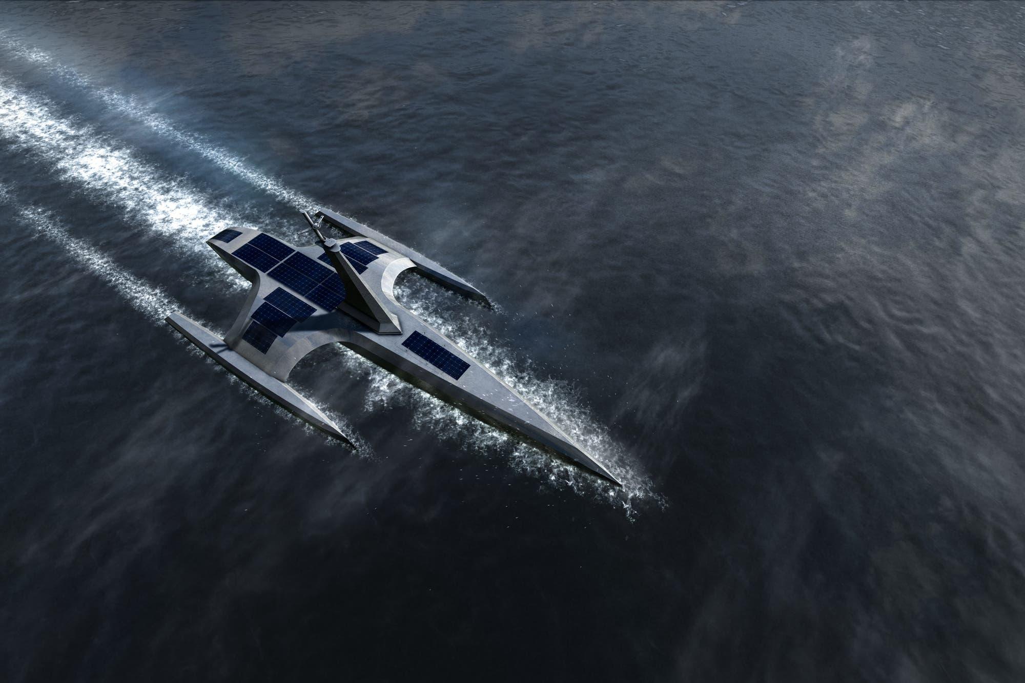 Un barco autónomo cruzará el Atlántico de Inglaterra a EE.UU. sin tripulación