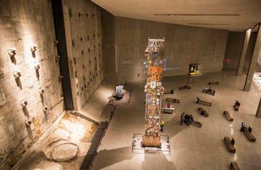 El interior del museo.