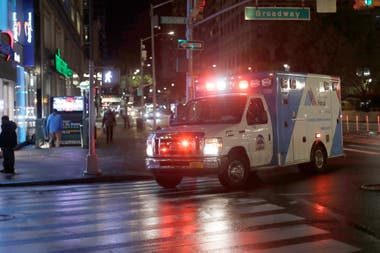 Ambulancias en Manhattan