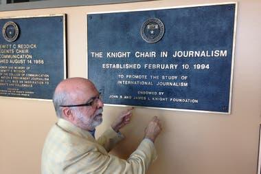 Rosental organiza hace más de 20 años el International Symposium of Online Journalism (ISOJ), uno de los seminarios de periodismo más prestigiosos del mundo