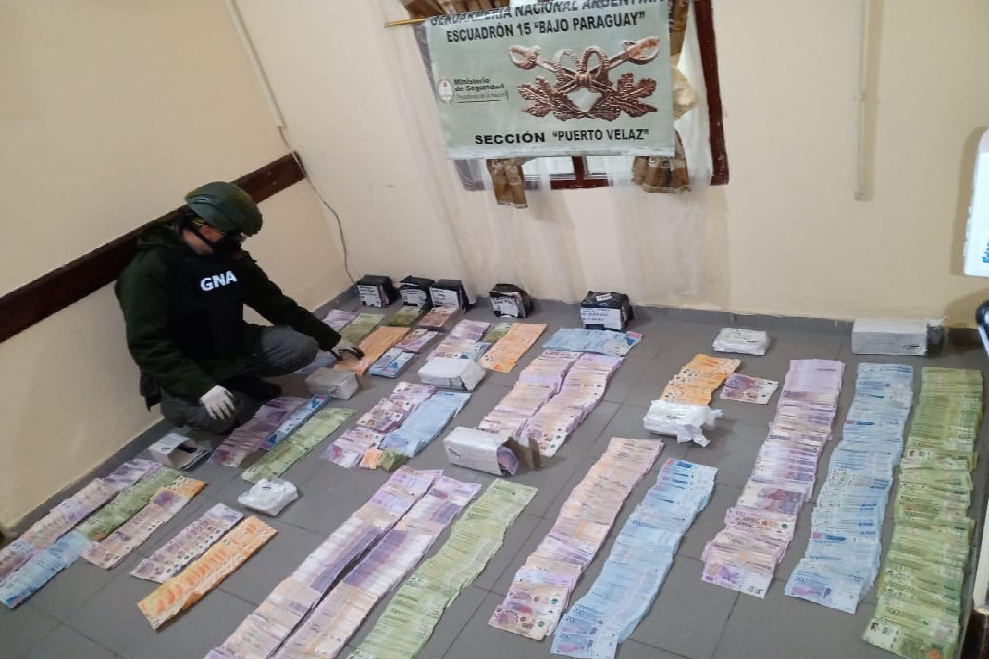 Dinero en las rutas: encontraron más de $ 2.000.000 que estaban ocultos en encomiendas