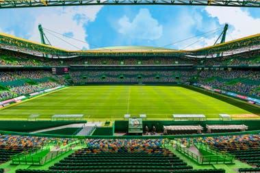El Estadio José Alvalade. La otra sede que tiene Lisboa para la culminación de la actual Champions League