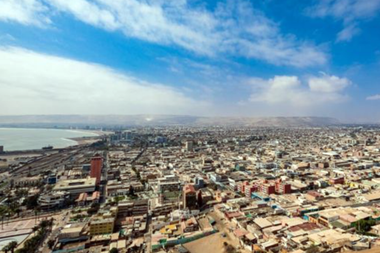 La ciudad de Arica es la última en el norte de Chile antes de llegar a Perú