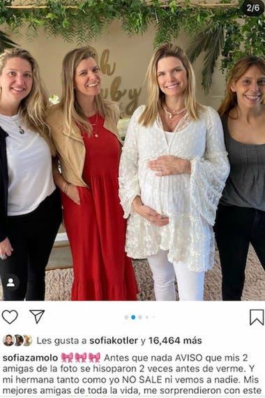Postal que Sofía eliminó de su cuenta de Instagram