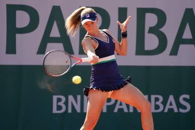 Podoroska sigue soñando en Roland Garros