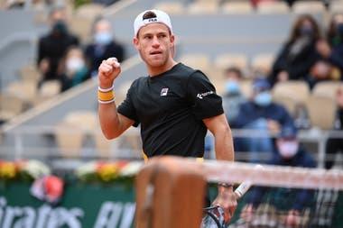 Diego Schwartzman pasó a semifinales de Roland Garros