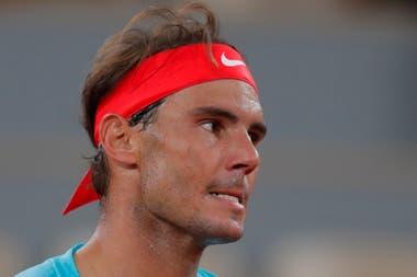El gesto que marca lo que siente Nadal al jugar al tenis