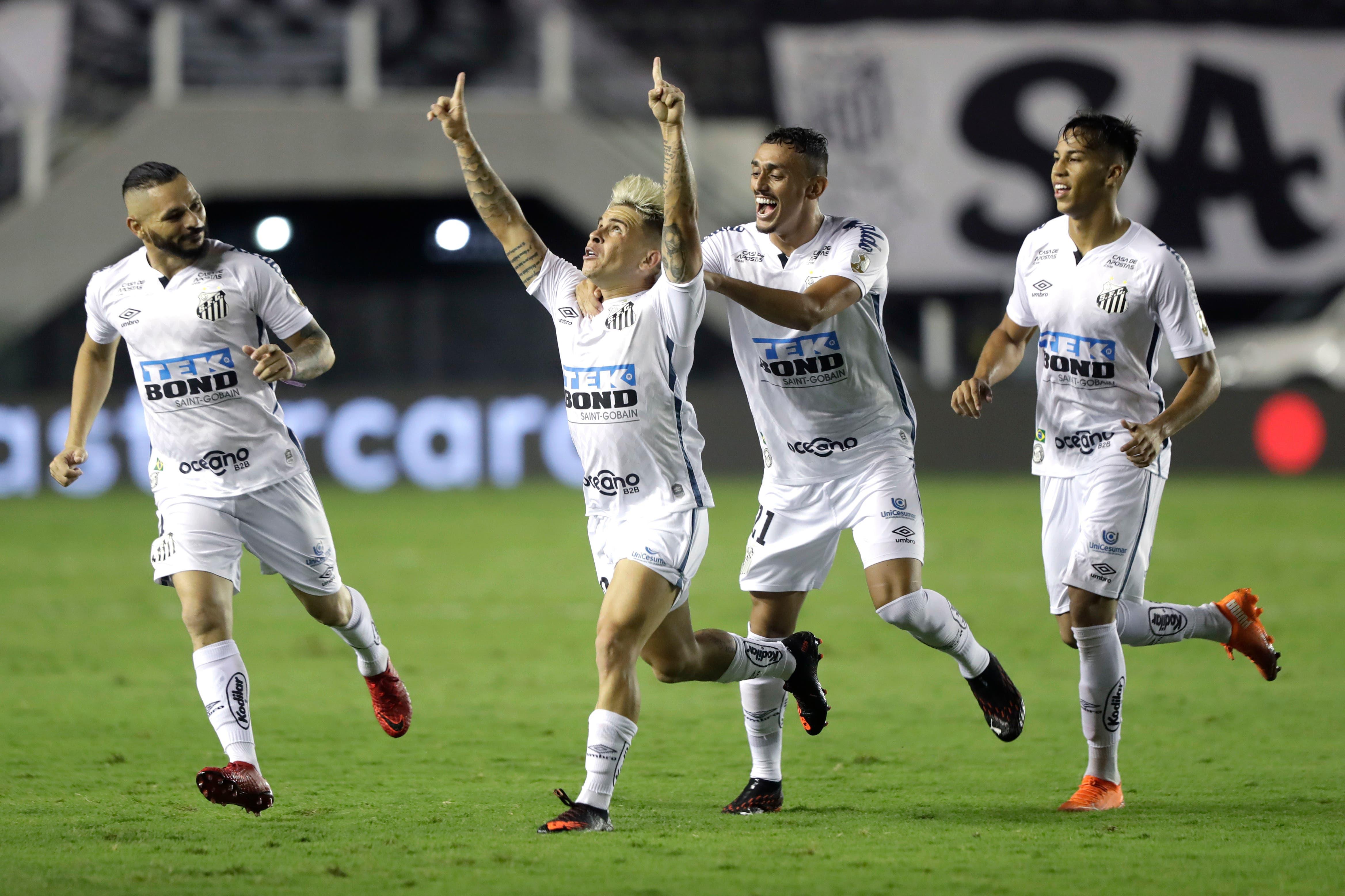 Santos - Boca: el xeneize es goleado 3-0 en la revancha de semifinales de la Copa Libertadores