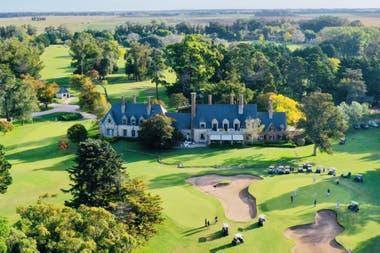 Marayui, hoy es un country con cancha de golf y club house