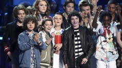 MTV Movie Awards 2017: los chicos de 13 Reasons Why le dieron el premio a Stranger Things
