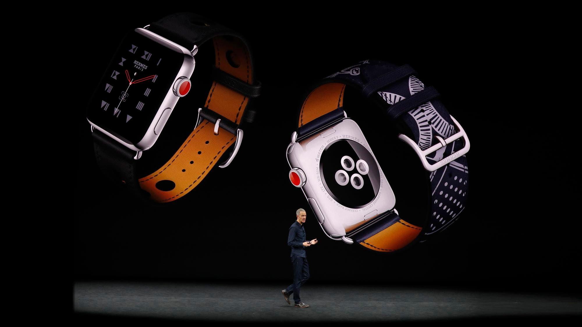9554ea68fd1b Apple presentó el nuevo reloj inteligente Watch
