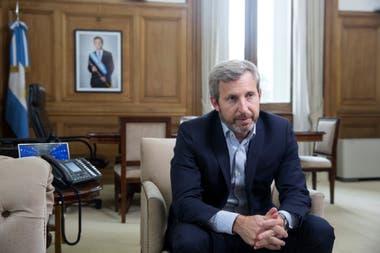 El ministro del Interior se refirió al tratamiento legislativo del proyecto opositor para retrotraer las tarifas a noviembre de 2017