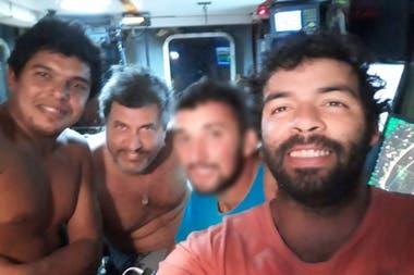 Los tripulantes del Rigel