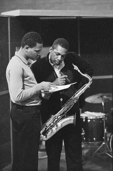 McCoy Tyner y Coltrane, poco antes de sesión ahora recuperada