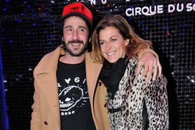 Tobal y su novio en un evento en agosto pasado