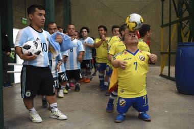 La selección de talla baja de la Argentina está en la final de la Copa América ganándole a Brasil