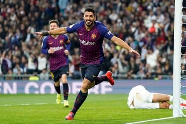 Suárez marcó dos goles y fue fundamental en la victoria del Barcelona.