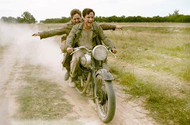 Como Alberto Granado, el amigo del Che, en Diarios de motocicleta. La película que lo lanzó a Hollywood.