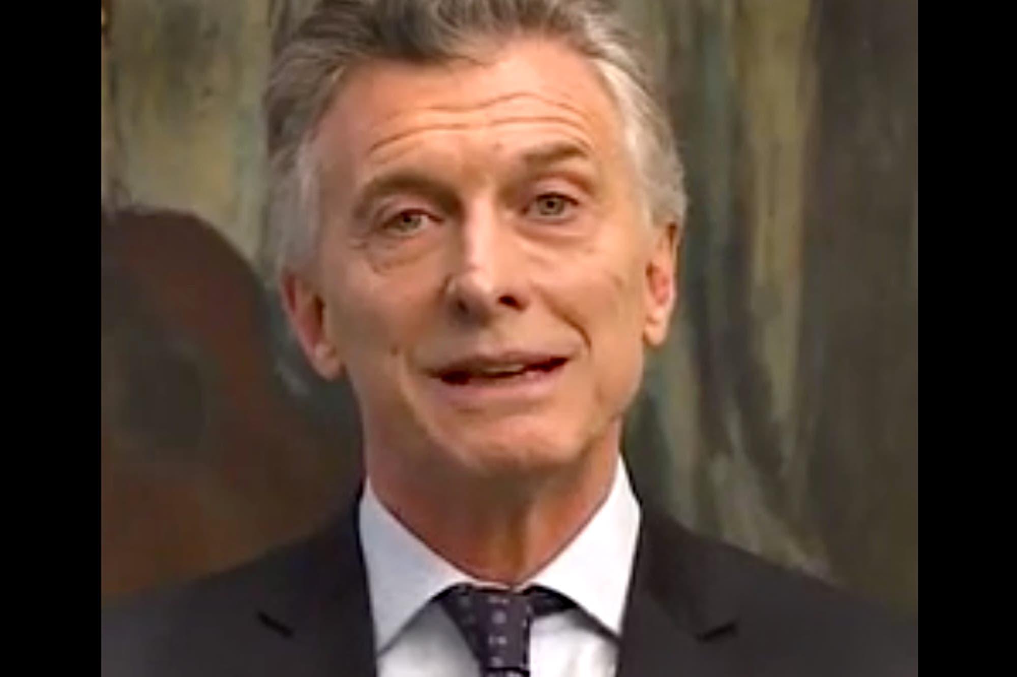 """Mauricio Macri aseguró que la eliminación del IVA en alimentos es una decisión """"histórica"""" y """"excepcional"""""""