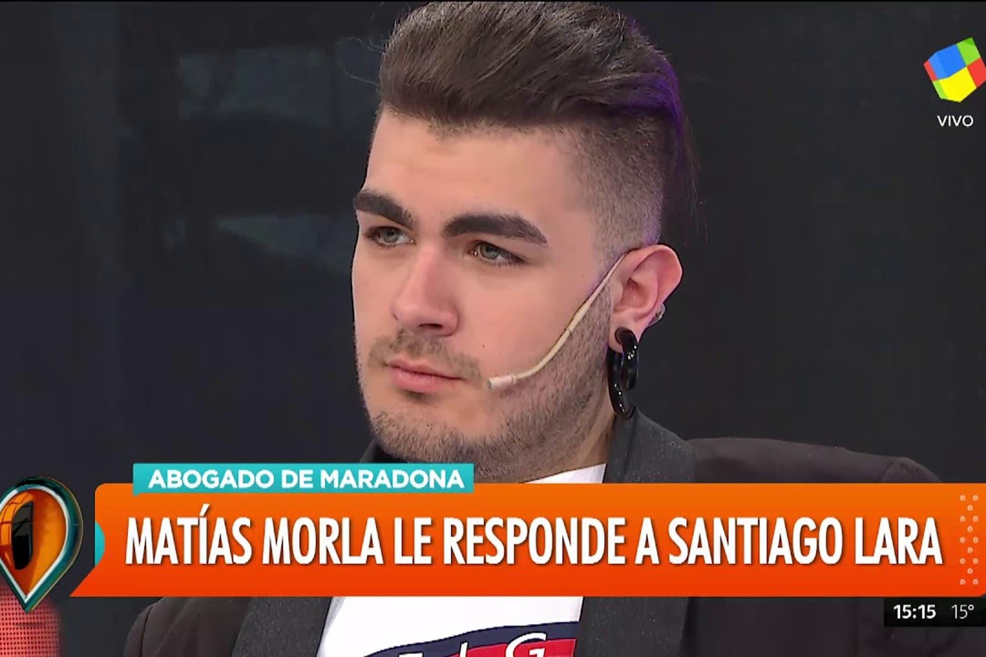 """La lucha de Santiago Lara, el supuesto hijo platense de Diego Maradona: """"Voy a seguir peleando por mi identidad"""""""