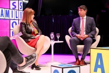 Claudia Álvarez Argüelles y Matías Basanta