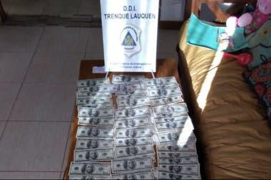 Se secuestraron alrededor de US$12.000
