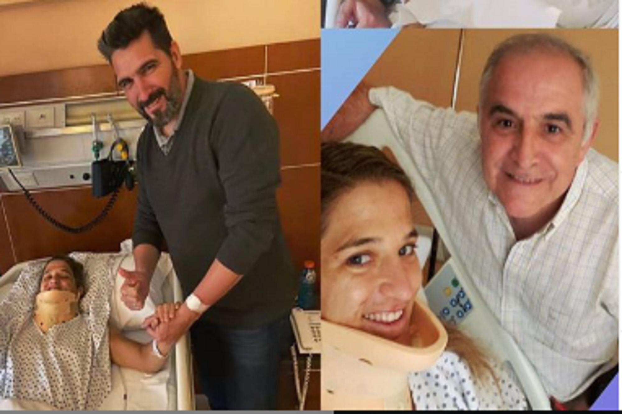 Volver a empezar: Paula Pareto fue operada de su hernia cervical y ya comienza su recuperación para los Juegos Olímpicos de Tokio