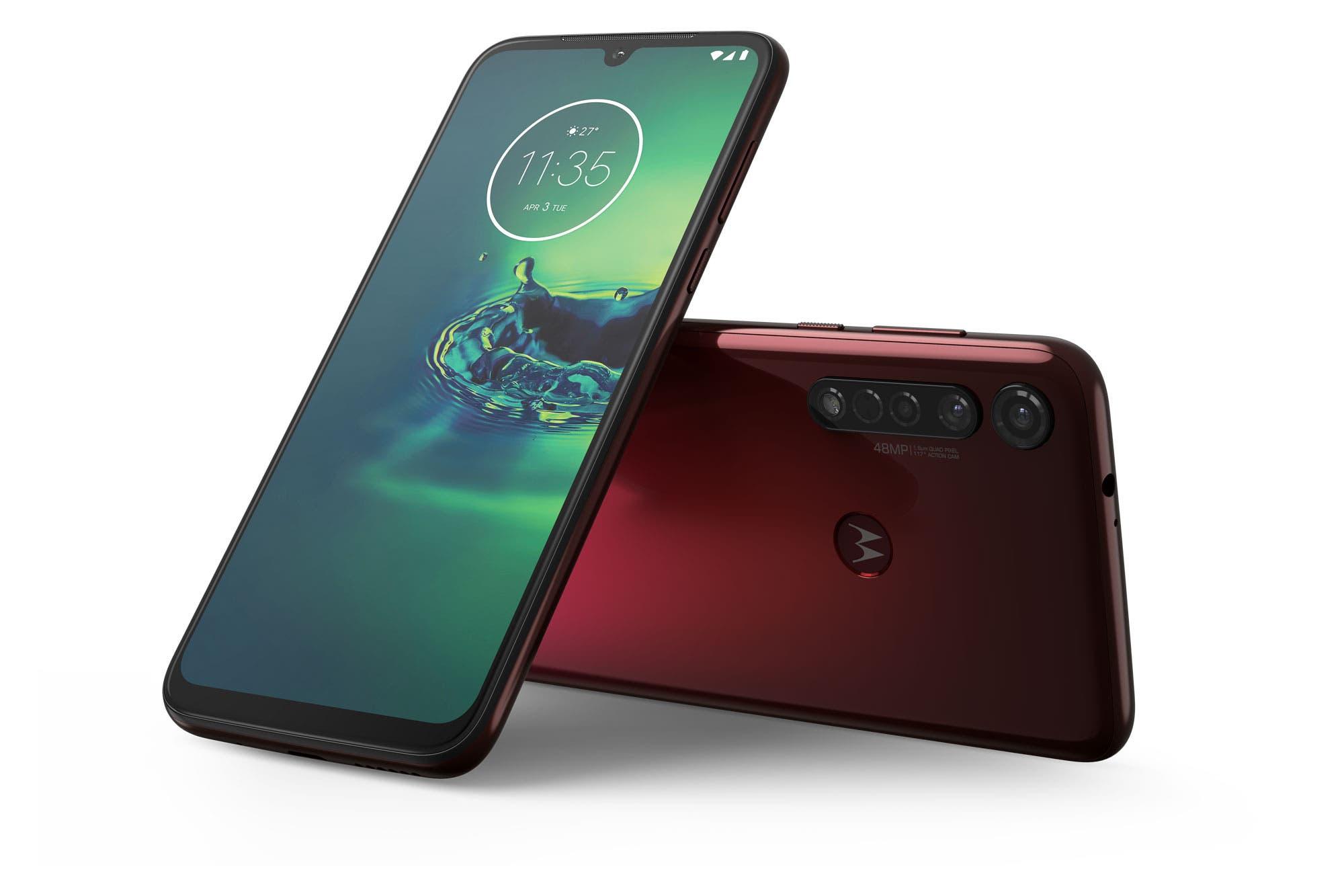 Motorola presentó los nuevos celulares Moto G8 Plus y Moto G8 Play