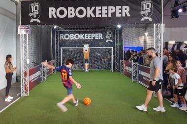 El Messi10 Challenge La Liga, una zona interactiva para jugar antes del ver el show del circo