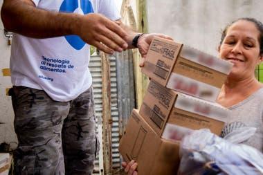 Por ahora, el transporte de la comida entre quienes la donan y el comedor se paga; la gestión de la transacción vía Nilus no tiene costo
