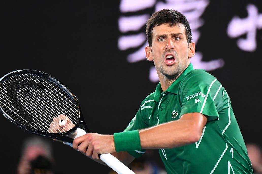 Australian Open Roger Federer Novak Djokovic Los Mejores Puntos De La Solida Victoria Del Serbio La Nacion