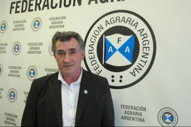 """Carlos Achetoni: """"FAA va asistir a la reunión del 14. Nadie va a llevar la voz de la Federación"""""""