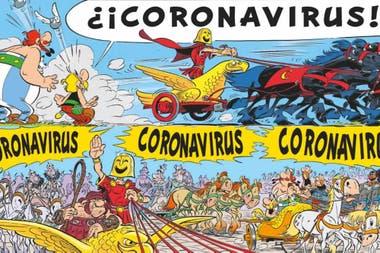 En estos días se recordó en las redes aquel capítulo de Asterix y Obélix sobre el coronavirus