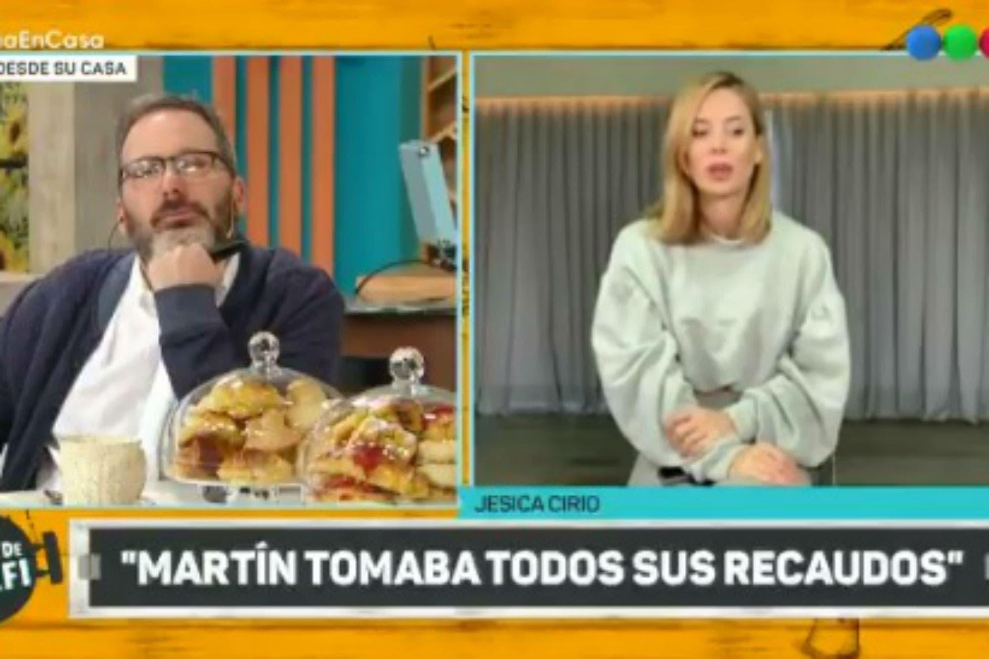 """Coronavirus: Gerardo Rozín se quebró al aire y Jésica Cirio contó que Martín Insaurralde """"está asustado"""""""