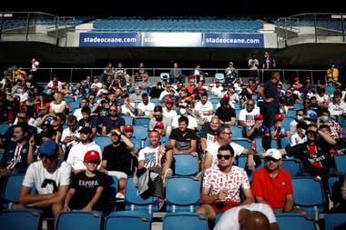 El estadio Oceane en la ciudad de Le Havre recibió a 5.000 espectadores en la goleada de PSG