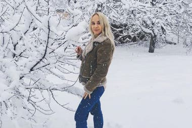 La joven fue contratada por la marca Zasport, que fabrica ropa deportiva y que viste al equipo olímpico ruso
