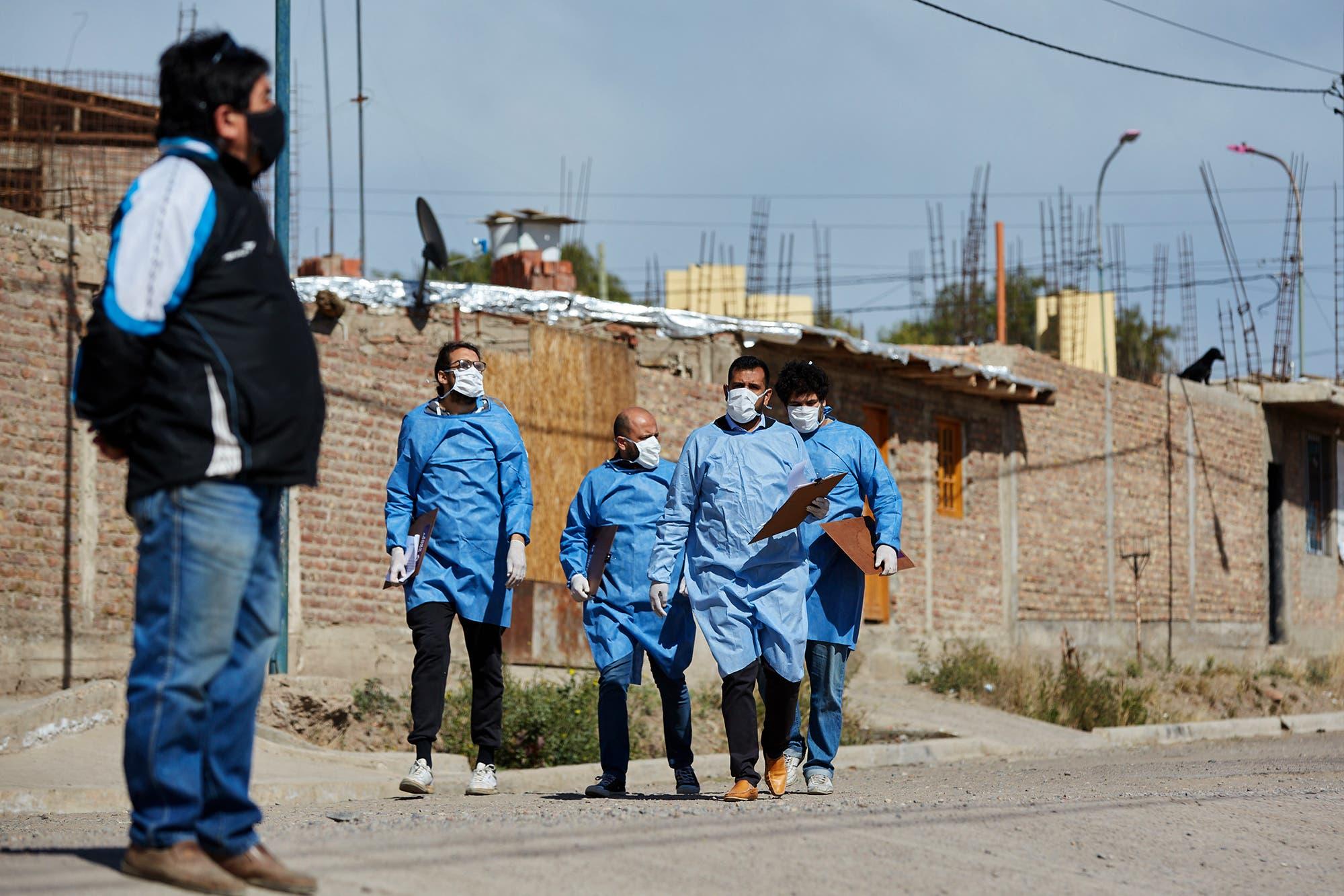Coronavirus en la Argentina: reportaron 11.892 contagios y 185 muertos en el día