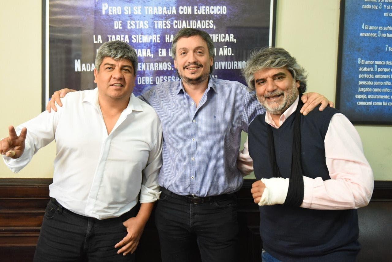 Máximo Kirchner sube a los Moyano a la pelea contra Rodríguez Larreta
