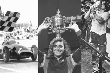 Juan Manuel Fangio, Guillermo Vilas, Diego Maradona: Iconos de los Juegos Argentinos