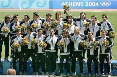 Atenas 2004, la primera de las dos medallas de oro que ganaron en los Juegos Olímpicos
