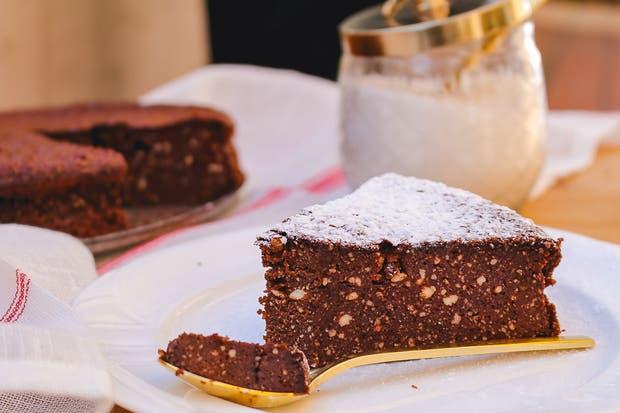 Receta de Torta de chocolate y ricota sin TACC