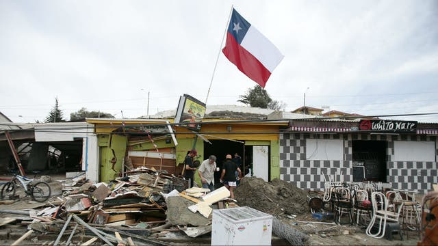 La zona de Coquimbo fue la más afectada por el sismo