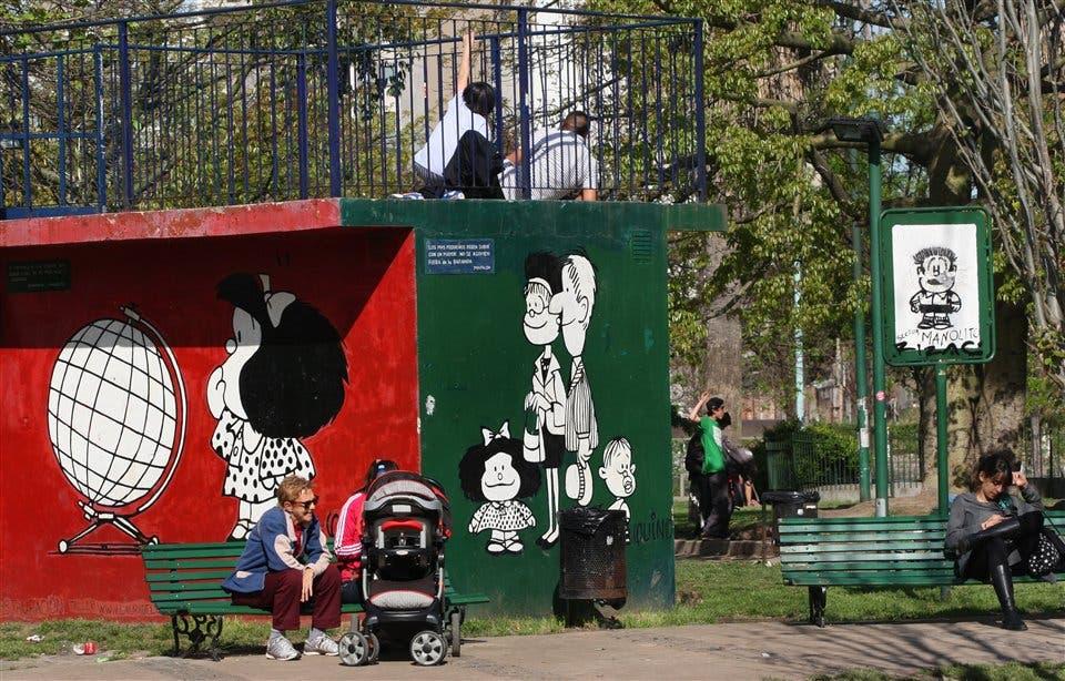 Vecinos de Colegiales se resisten a que Mafalda quede tras las rejas