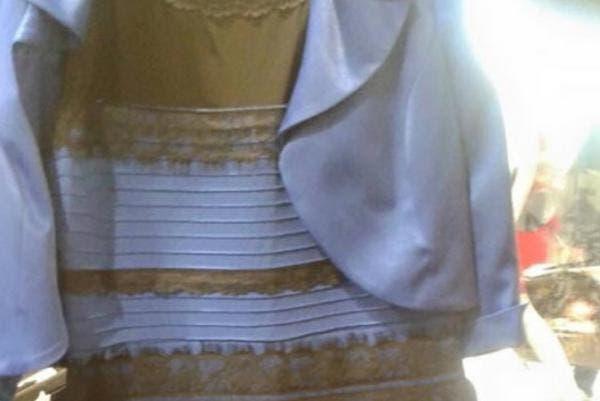 Porque algunos ven el vestido azul y negro