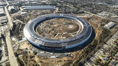 Así se ve el Apple Campus 2, el impresionante edificio ideado por Steve Jobs