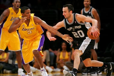 2007, otra vez ante Los Angeles Lakers en el Staples Center