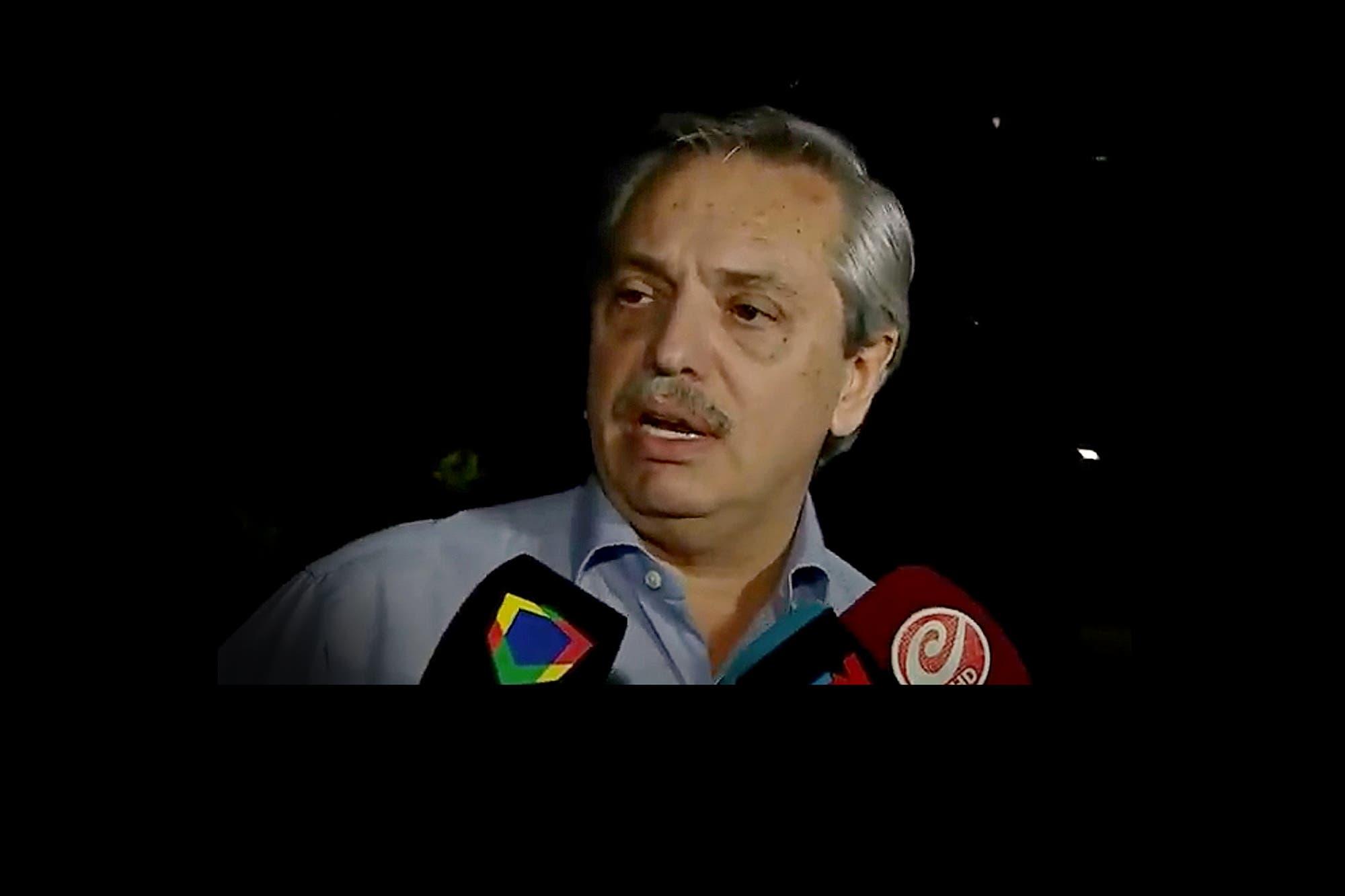 """Alberto Fernández: """"Cristina es una víctima del sistema judicial"""""""