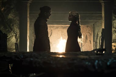 Jon y Dany, en el final de Game of Thrones